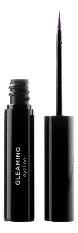 Жидкая подводка для век Gleaming Eyeliner 4мл: No 11 nouba adorable eyeliner water resistant