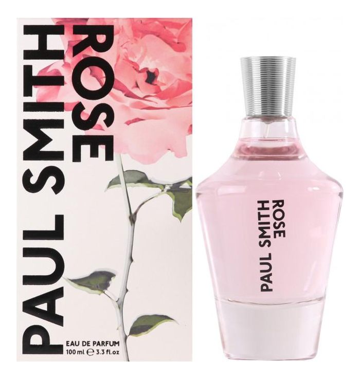Paul Smith Rose: парфюмерная вода 100мл paul smith women 100 мл