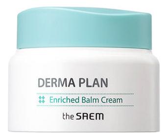 Крем-бальзам для чувствительной кожи Derma Plan Enriched Balm Cream 60мл крем для лица успокаивающий the saem derma plan green calming cream 70 мл