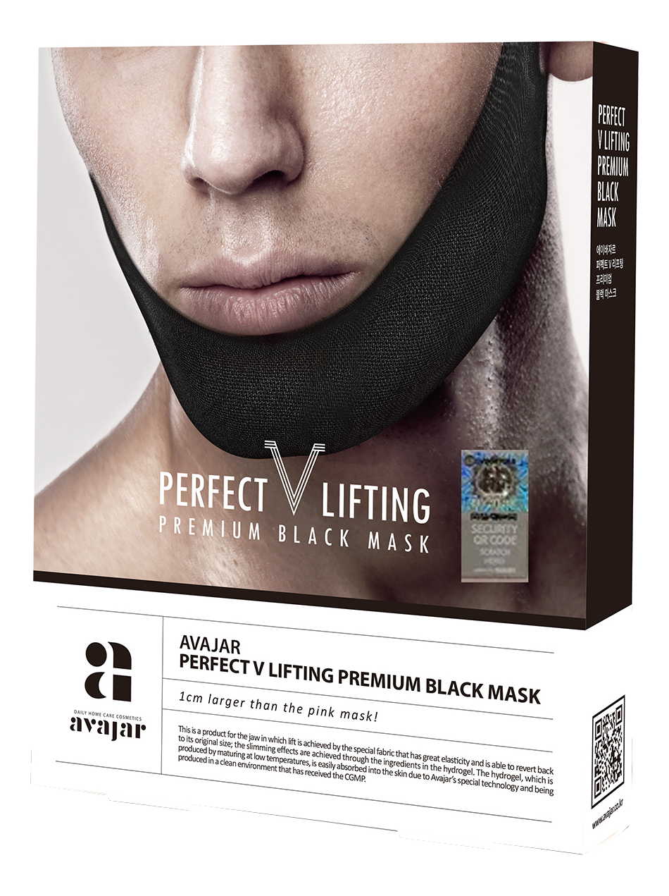 Лифтинговая маска для лица Perfect V Lifting Premium Black Mask: Маска 1шт onone perfect mask premium edition 5 2 3 rus