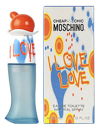 Moschino Cheap and Chic I Love Love: туалетная вода 30мл