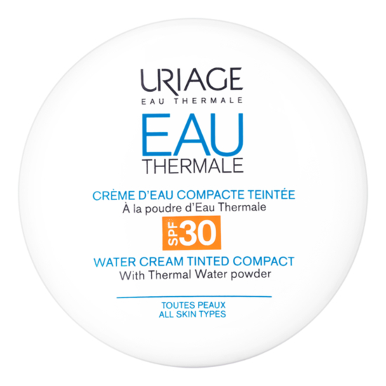 Компактная крем-пудра для лица Eau Thermale Creme D'Eau Compacte Teintee SPF30 10г восстанавливающий питательный крем для лица eau thermale creme nutritive revitalisante 50мл