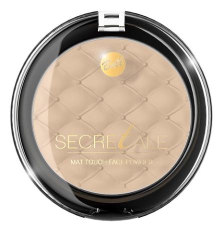 Матирующая пудра фиксирующая макияж Secretale Mat Touch Face Powder 9г: No 04 наполнитель для воскоплавов serene woods wax melts 70 9г