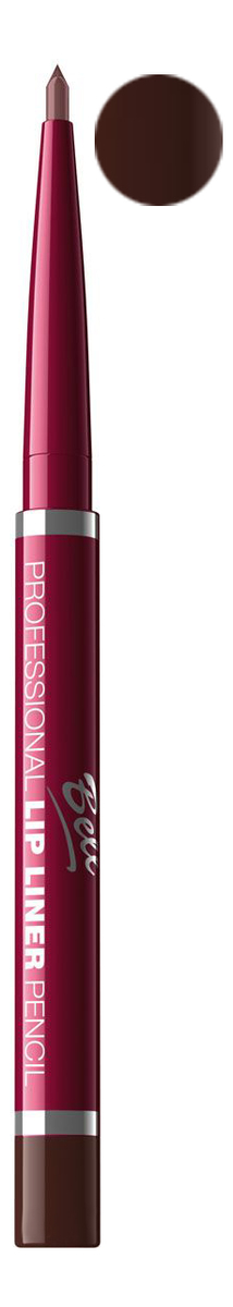 Карандаш для губ Professional Lip Liner Pencil 4г: No 6 водостойкий карандаш для глаз secretale deep eye pencil 0 2г no 2