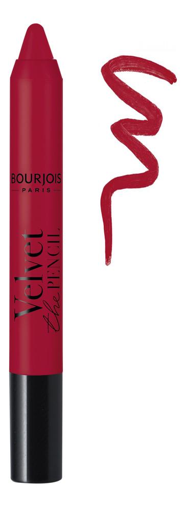 Помада-стик для губ Velvet The Pencil Lipstick 3г: No 15 помада для губ lipstick ultra slick 3г nfa01 show stopper
