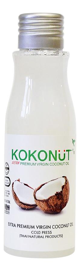 Масло кокосовое для тела Extra Premium Virgin Coconut Oil: Масло 60мл (бутылка) parachute coconut oil кокосовое масло 500 мл