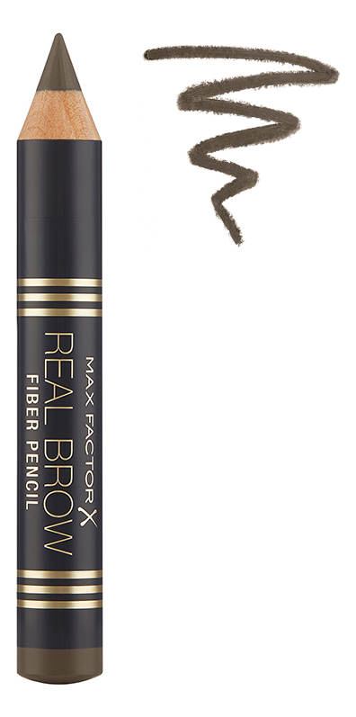Карандаш для бровей Real Brow Fiber Pencil 3,8г: 003 Medium brown relouis карандаш brow wow оттенок 03 medium brown