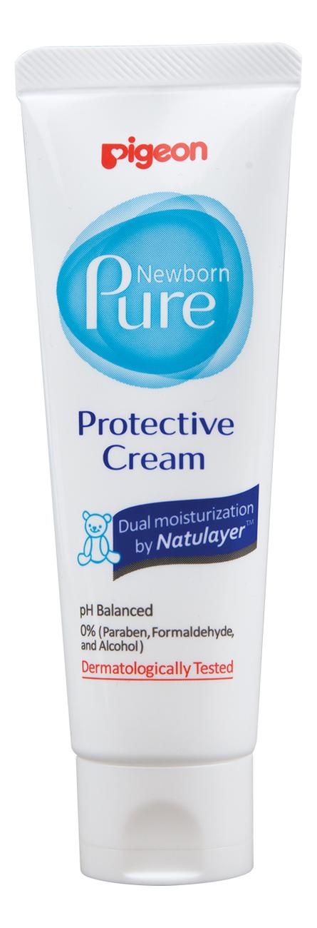 Защитный крем для тела Newborn Pure Protective Cream 50мл косметика для новорожденных pigeon защитный крем newborn pure protective cream 0 мес 50 мл