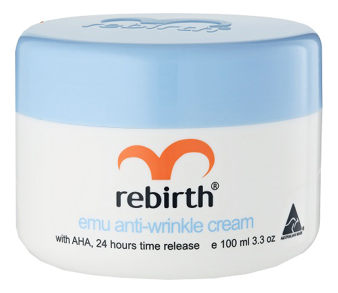 Крем от морщин с маслом эму и фруктовыми кислотами Emu Anti-Wrinkle Cream: Крем 100мл самый эффективный крем от морщин после 55