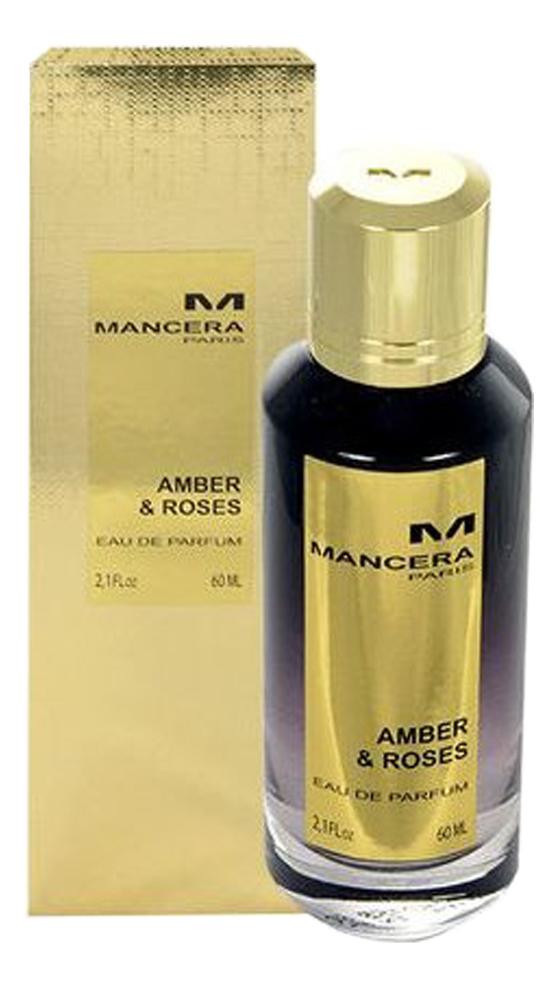 Mancera Amber Roses: парфюмерная вода 60мл burberry body парфюмерная вода 60мл