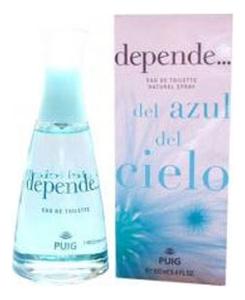 Antonio Puig Depende Del Azul del Cielo: туалетная вода 100мл el fondo del cielo