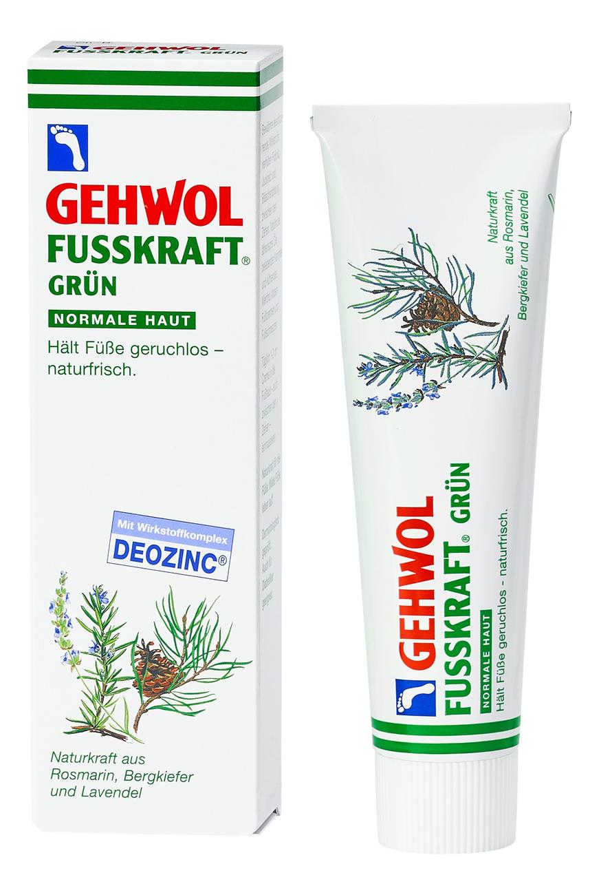 Зеленый бальзам для ног Fusskraft Grun: Бальзам 125мл