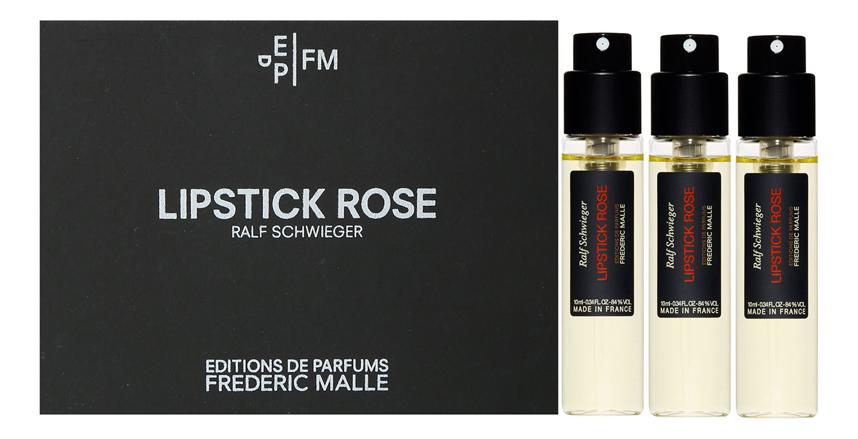 где купить Frederic Malle Lipstick Rose: парфюмерная вода 3*10мл дешево