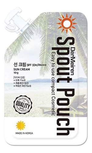 Солнцезащитный крем для лица UV Defense High Protection Sun Cream SPF50+ PA+++ 10г