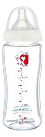 Бутылочка стеклянная Peristaltic Plus 240мл (3+мес)