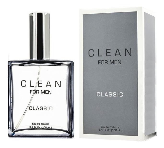 Clean Classic for Men: туалетная вода 100мл