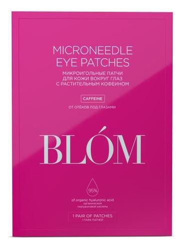Микроигольные патчи для области вокруг глаз с кофеином Microneedle Eye Patches Caffeine: Патчи 1 пара