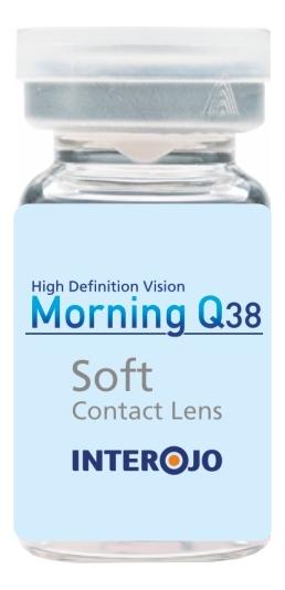 Контактные линзы Morning Q38 (1 флакон): оптическая сила -7,00; радиус кривизны 8,6 adria контактные линзы morning q 1 day 5 шт 3 00 8 6 14 2