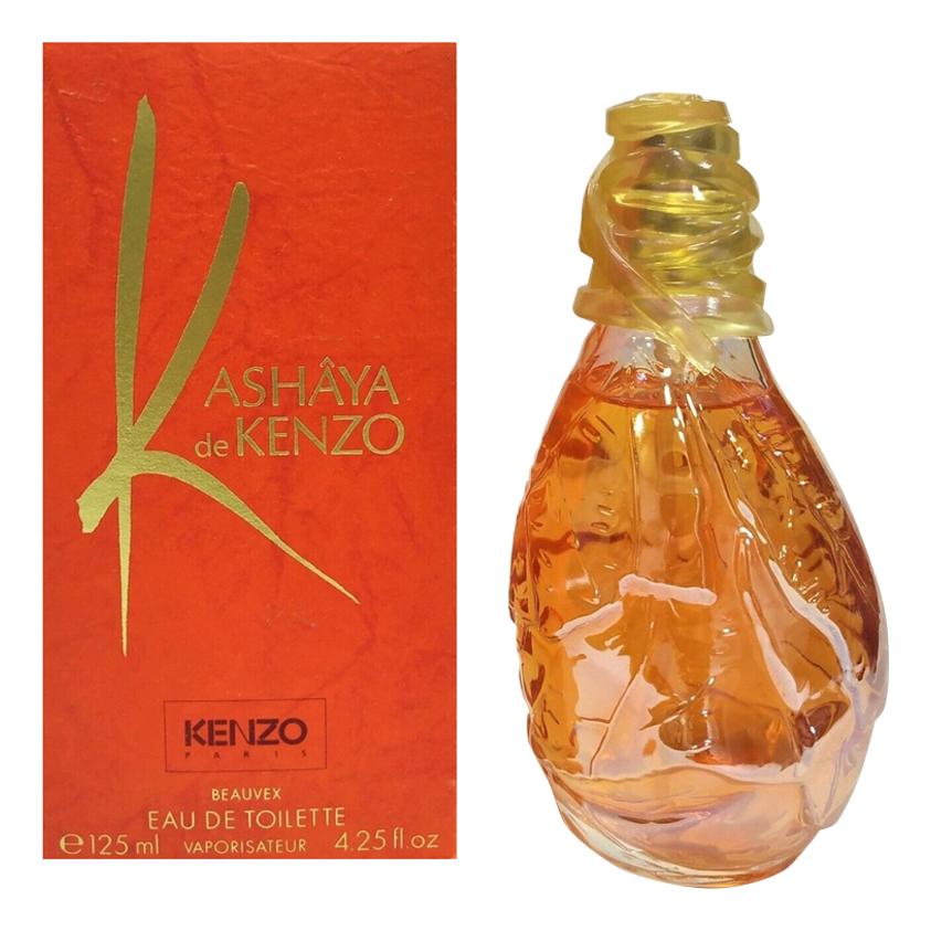 Kenzo Kashaya: туалетная вода 125мл kenzo leau туалетная вода 100 мл