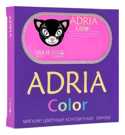Контактные линзы Color 1 Tone (2 блистера): оптическая сила -10,00; радиус кривизны 8,6; цвет gray