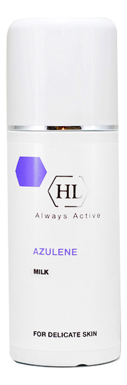 Очищающее молочко для лица Azulene Milk 250мл holy land azulene