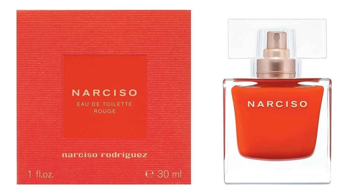 Narciso Rodriguez Narciso Eau De Toilette Rouge: туалетная вода 30мл narciso rodriguez for her eau de parfum