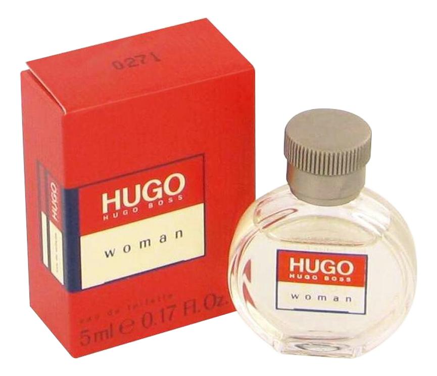 Hugo Boss Hugo Woman: туалетная вода 5мл hugo boss boss elements aqua туалетная вода 5мл