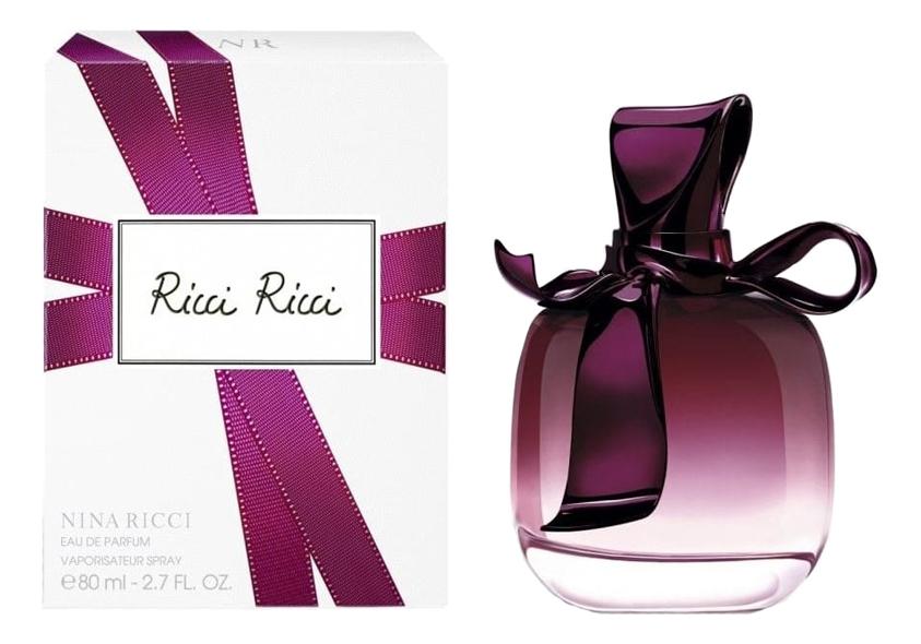 Nina Ricci Ricci Ricci: парфюмерная вода 80мл сабо dino ricci trend dino ricci trend mp002xm22fo2
