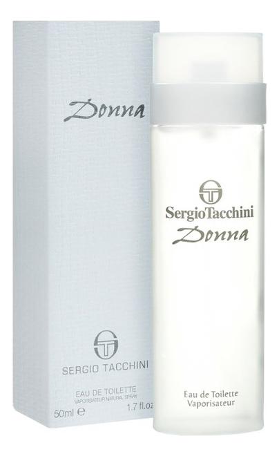 Sergio Tacchini Donna: туалетная вода 50мл sergio tacchini donna