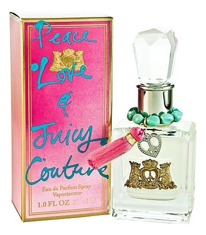 Juicy Couture Peace Love & Juicy Couture: парфюмерная вода 30мл