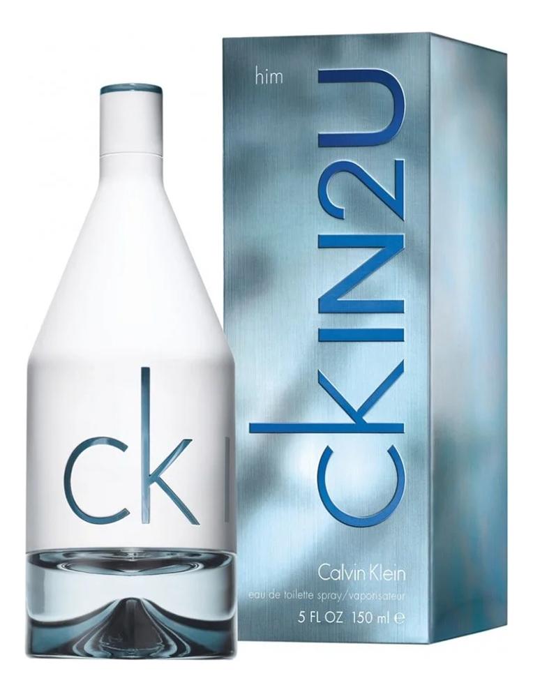 Calvin Klein CK In 2U for him: туалетная вода 150мл