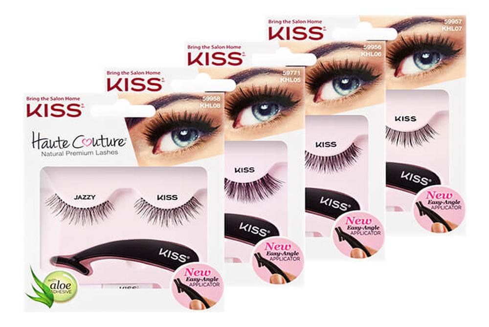 Накладные ресницы Haute Couture Single Lashes: Fancy KHL07GT накладные ресницы kiss single lashes ritzy page 1