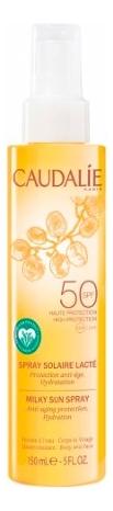 Солнцезащитное молочко-спрей для лица и тела Spray Solaire Lacte SPF50 150мл спрей для тела caudalie caudalie ca104lwiw467