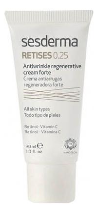 Регенерирующий крем против морщин Retises Crema Antiarrugas Regeneradora Forte 30мл: Крем 0,25% автозагар крем