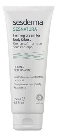 Подтягивающий крем для тела и груди Sesnatura Crema Reafirmante De Senos Y Cuerpo 250мл