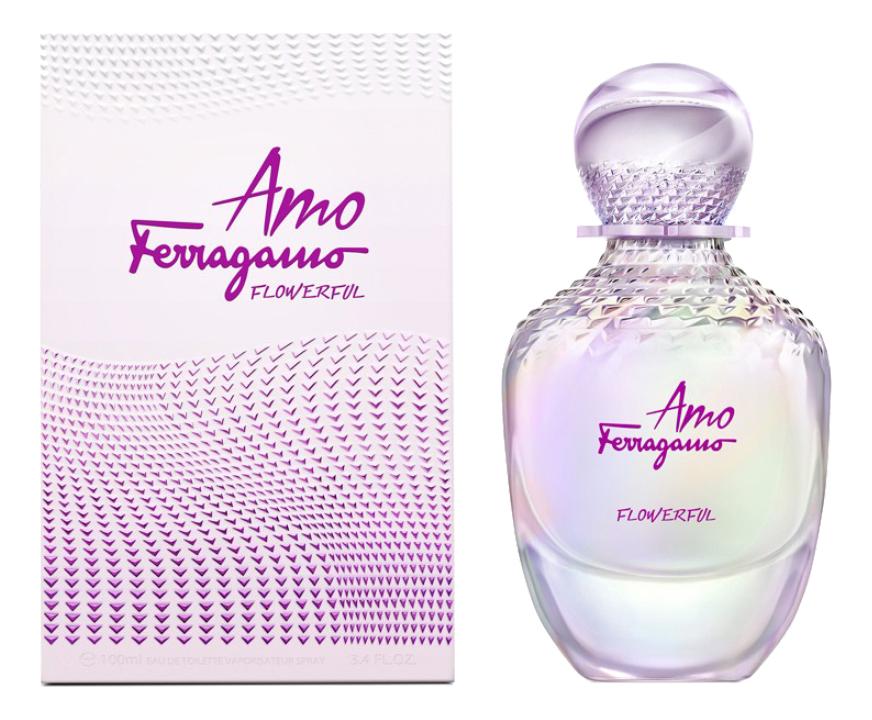 Salvatore Ferragamo Amo Ferragamo Flowerful: туалетная вода 100мл мужские часы salvatore ferragamo f55020014
