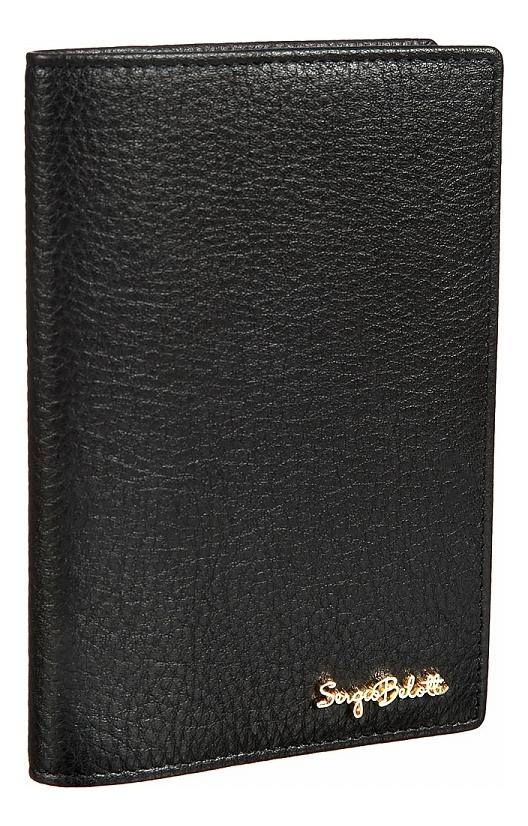 Обложка для паспорта Verona black 04-0701