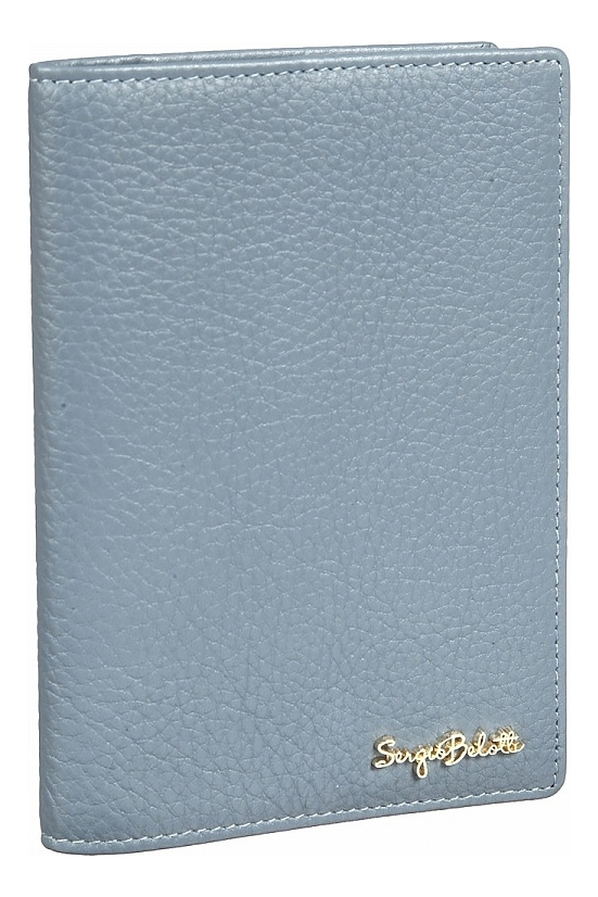 Обложка для паспорта Verona blue 04-0701