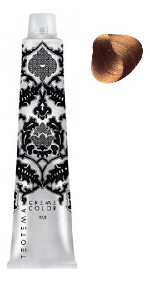 Стойкая крем-краска для волос Cream Color 100мл: 5.34 Светлый золотистый медный коричневый стойкая крем краска с низким содержанием аммиака sense colours tintura in cream 100мл red contrast