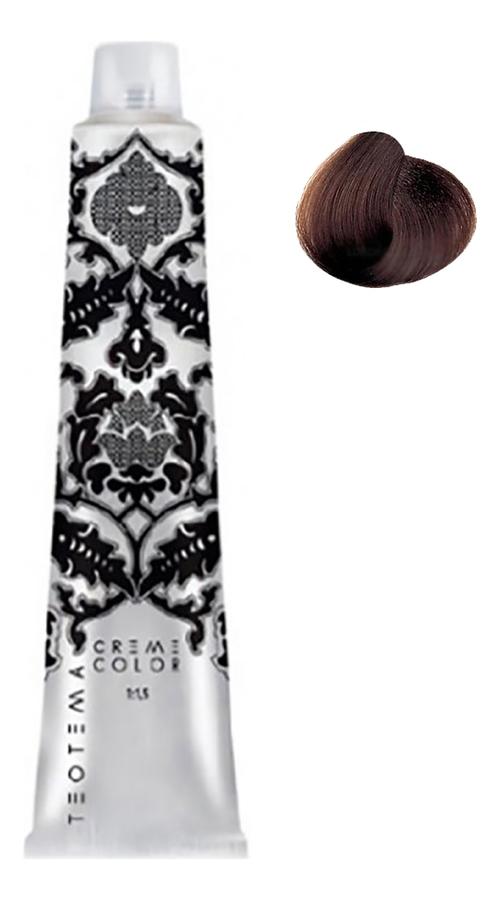 Стойкая крем-краска для волос Cream Color 100мл: 6.7 Темный блондин (какао) стойкая крем краска для волос cream color 100мл 6 8 темный холодный коричневый блондин