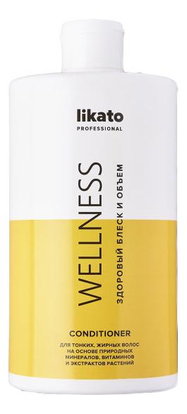 Фото - Кондиционер для жирных волос Wellness: Кондиционер 400мл кондиционер