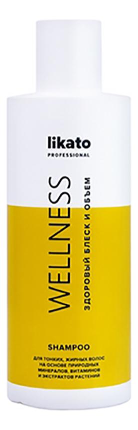 цены Минеральный шампунь для волос с витаминами Wellness: Шампунь 400мл