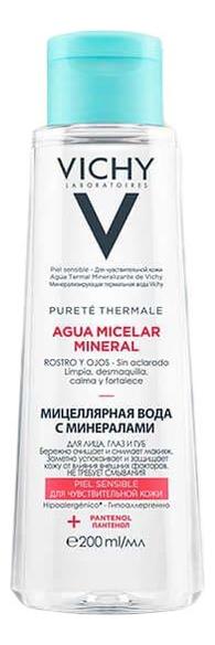 Мицеллярная вода с минералами для чувствительной кожи Purete Thermale Aqua Micelar Mineral: Вода 200мл