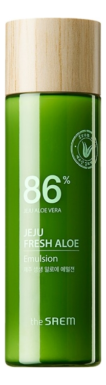 Эмульсия для лица с экстрактом алоэ вера Jeju Fresh Aloe 86% Emulsion 155мл the saem эмульсия для лица