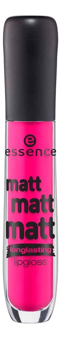 Матовый блеск для губ Matt Matt Matt Lipgloss 5мл: 10 Strawberry Skies кеды matt nawill matt nawill ma085amwds38