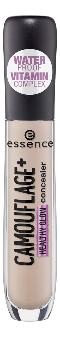 Консилер для лица Essence Camouflage+ Healthy Glow 5мл: 10 Light Ivory консилер для лица camouflage cream 3г 010 ivory
