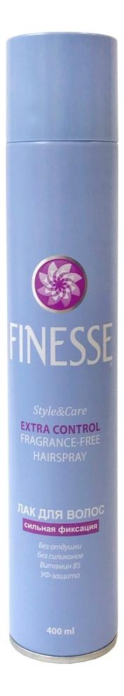 Лак для волос Extra Control Fragrance-Free Hair Spray 400мл