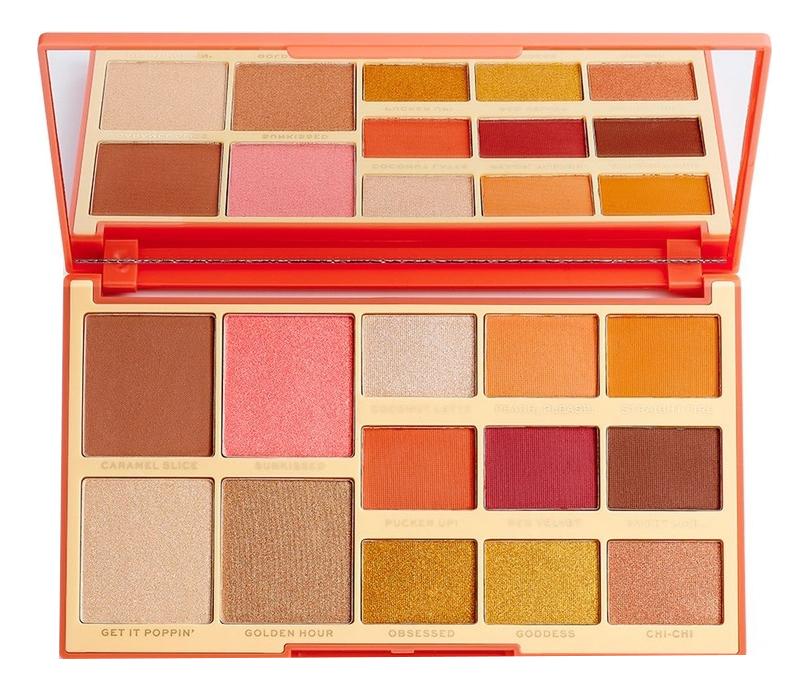 Палетка для макияжa Rachel Leary Goddess-On-The-Go Face And Shadow Palette