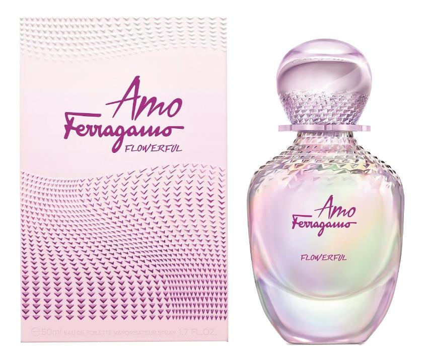 Salvatore Ferragamo Amo Ferragamo Flowerful: туалетная вода 50мл мужские часы salvatore ferragamo f55020014