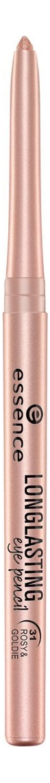 Карандаш для глаз Long Lasting Eye Pencil 0,28г: 31 Rosy & Goldie карандаш для глаз long lasting eye pencil 0 28г 28 life in pink